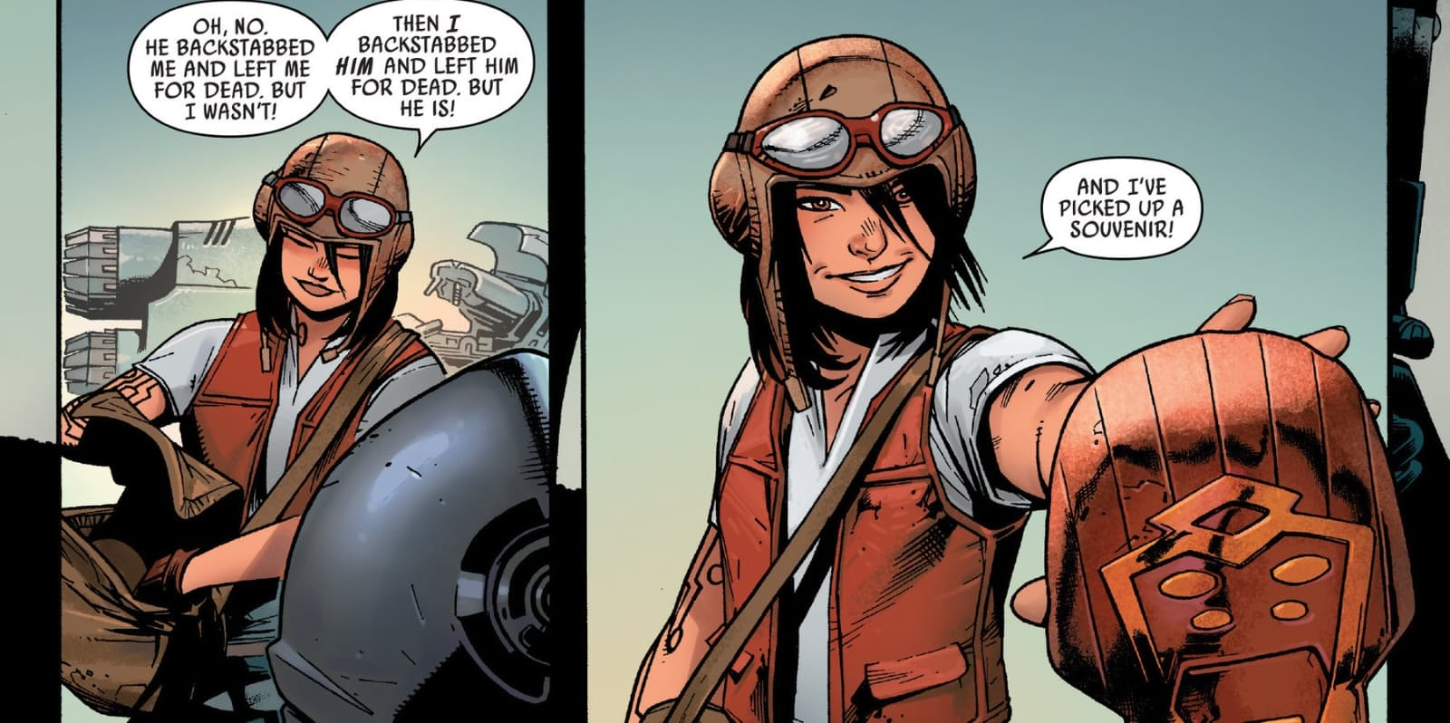How can you not love Doctor Aphra?